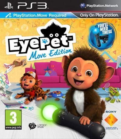 Eye Pet Move Edition Pla Ps3