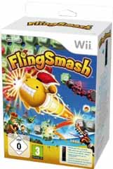 Flingsmash   Remote Plus Negro Wii
