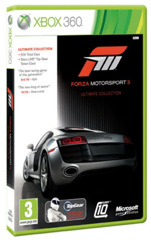 Forza Motorsport 3 Ultimate Collection X360