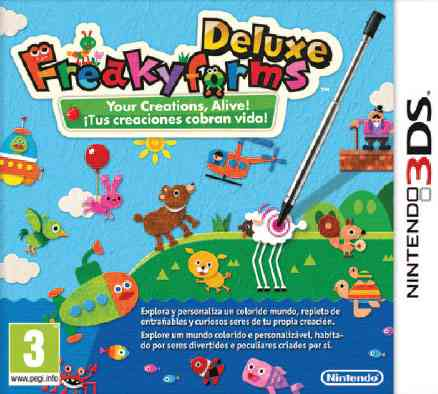 Freaky Forms 3ds