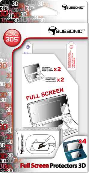 Full Screen Protectors 3ds
