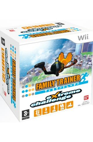 Family Trainer Extreme Challenge Bundle Wii
