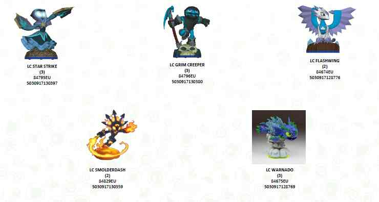 Figura Skylanders Swap Force - Wave 1  Figura Light Core