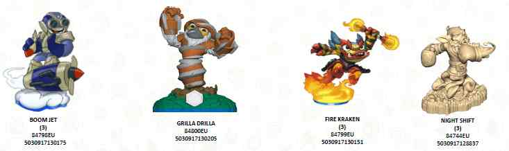 Figura Skylanders Swap Force - Wave 2  Figura Swap Force