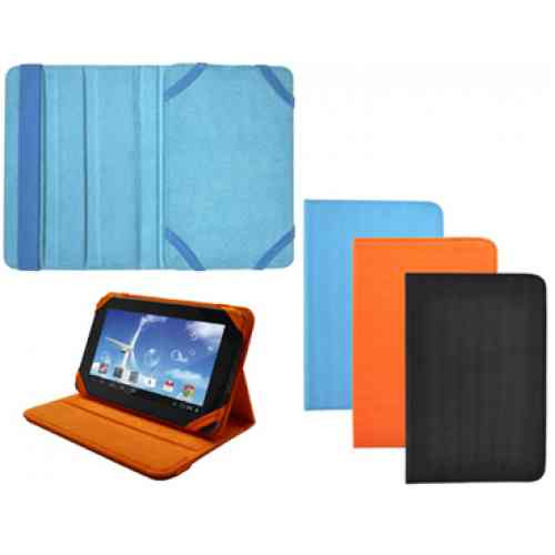 Ver Funda Piel Tablet 7 Azul Sunstech
