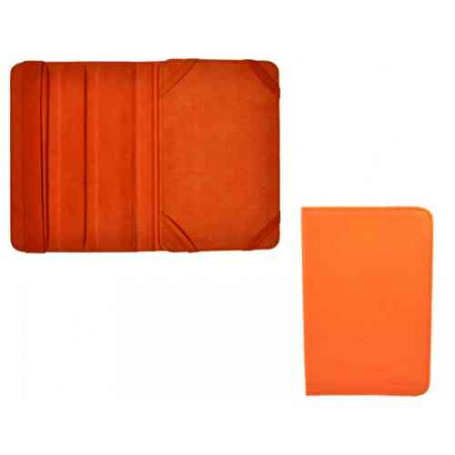 Funda Piel Tablet 7 Naranja Sunstech