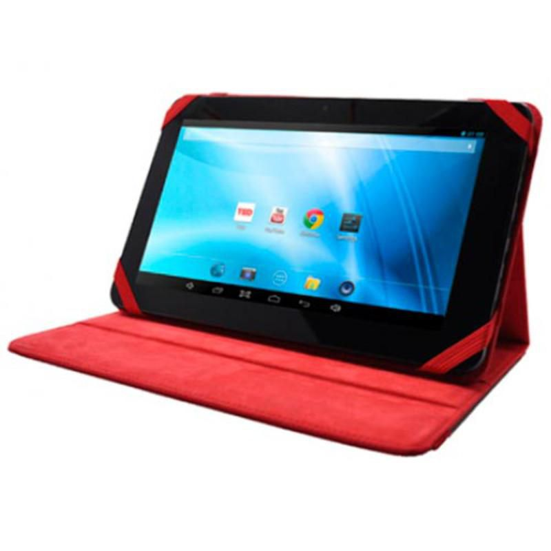 Ver Funda Piel Tablet 9 Roja Sunstech