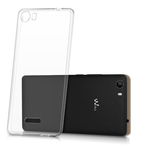 Funda Silicona Wiko Fever Transparente New Science