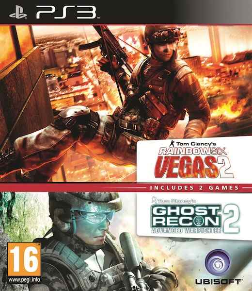 Ghost Recon Advanced Warfighter 2  Rainbow Six Vegas 2 Ps3