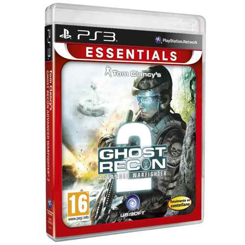 Ver GHOST RECON ADVANCED WARFIGHTER 2 ESSENTIALS PS3