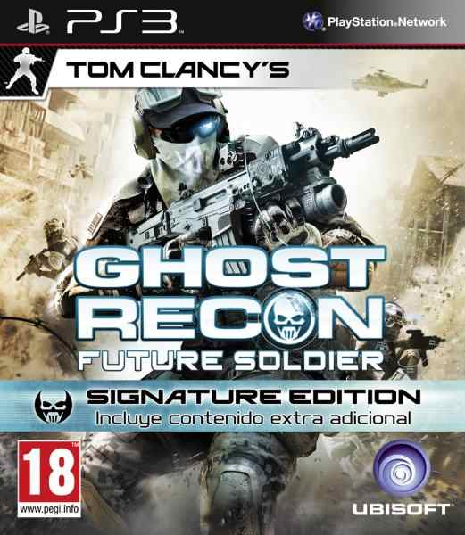 Ghost Recon Future Soldier Signature Edition Ps3