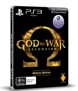 God Of War Ascension  Special Edition  Ps3