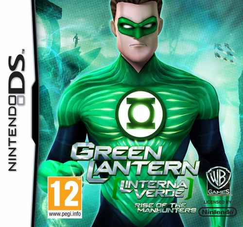 Green Lantern  Linterna Verde  Rise Of The Manhunters Nds