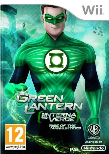 Ver GREEN LANTERN  LINTERNA VERDE  RISE OF THE MANHUNTERS WII