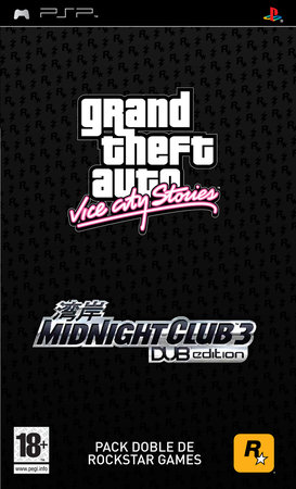 Gta Vice City Stories Midnight Club 3 Psp
