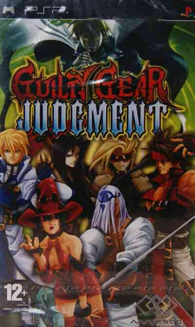 Guilty Gear Psp
