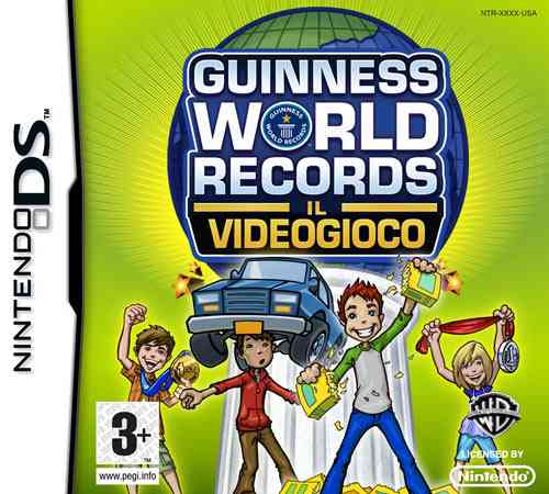 Ver GUINNESS WORLD OF RECORD NDS