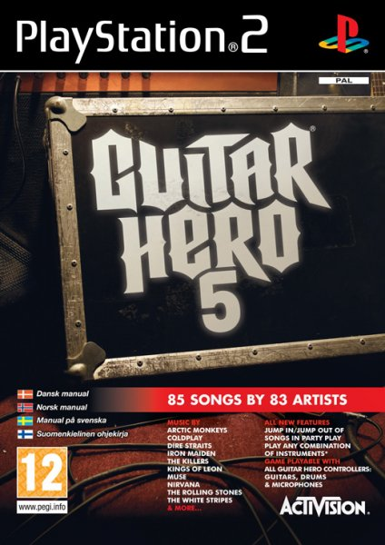 Guitar Hero 5 Software Ps2