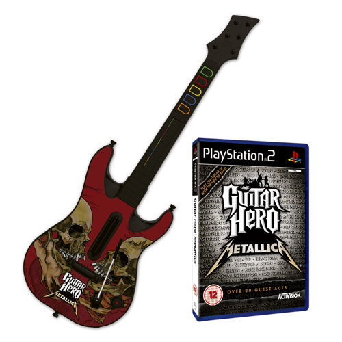 Guitar Hero Metallica   Guitar Ps2