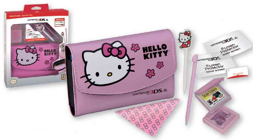 Game Traveller Essentials Pack Hello Kitty 3ds3ds Xl