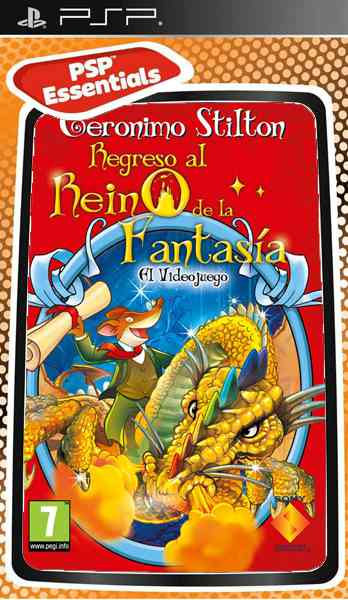 Geronimo Stilton 2 Essentials Psp