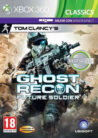 Ghost Recon Future Soldier Classisc X360