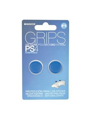 Ver Grips Azul Protectores Sticks Analogicos Woxter Ps4PS3X360