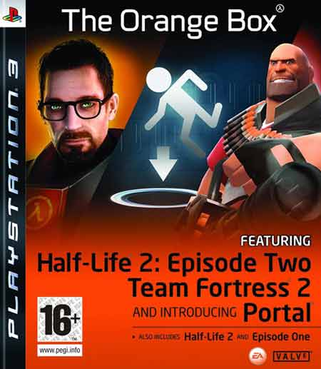 Half Life 2 The Orange Box Ps3