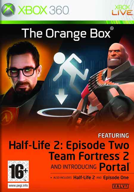 Half Life 2 The Orange Box X360