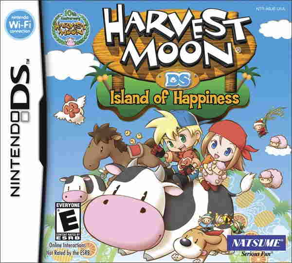 Harvest Moon Island Of Hapiness Nds