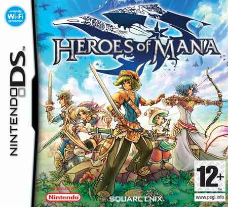 Heroes Of Mana Nds
