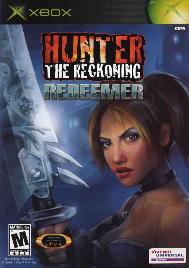 Hunter The Reckoning Redeemer Xbox  V