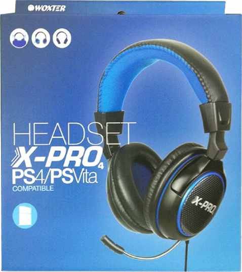 Ver Headset Stereo Woxter Ps4