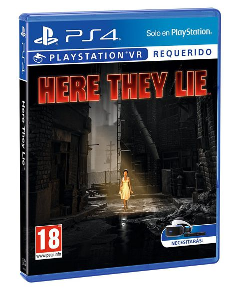 Ver Here They Lie Ps4
