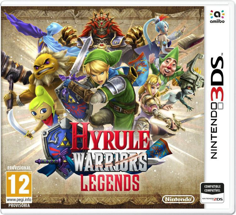 Ver Hyrule Warriors Legends 3Ds