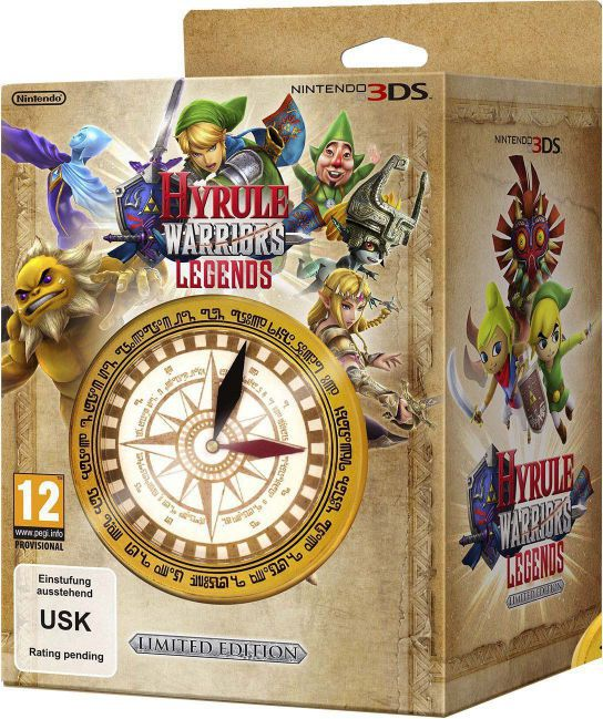 Ver Hyrule Warriors Legends Incluye Reloj Brujula Edi Limt 3D