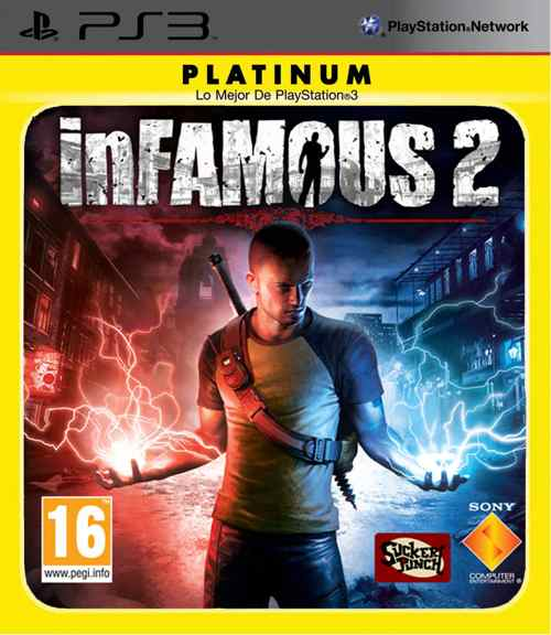 Infamous 2 Platinum Ps3
