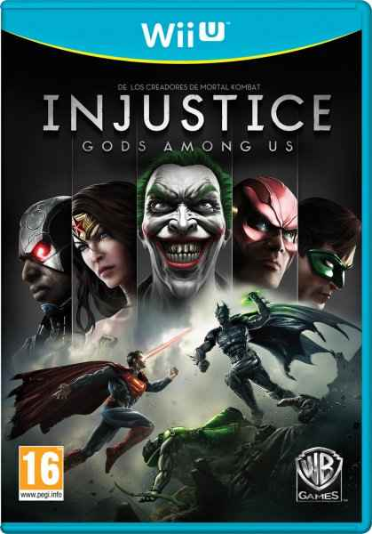 Injustice Gods Among Us Wii U