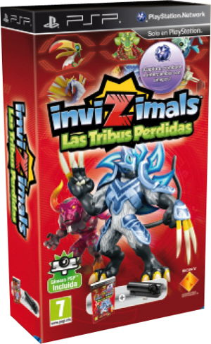 Invizimalsthe Lost Tribes Psp