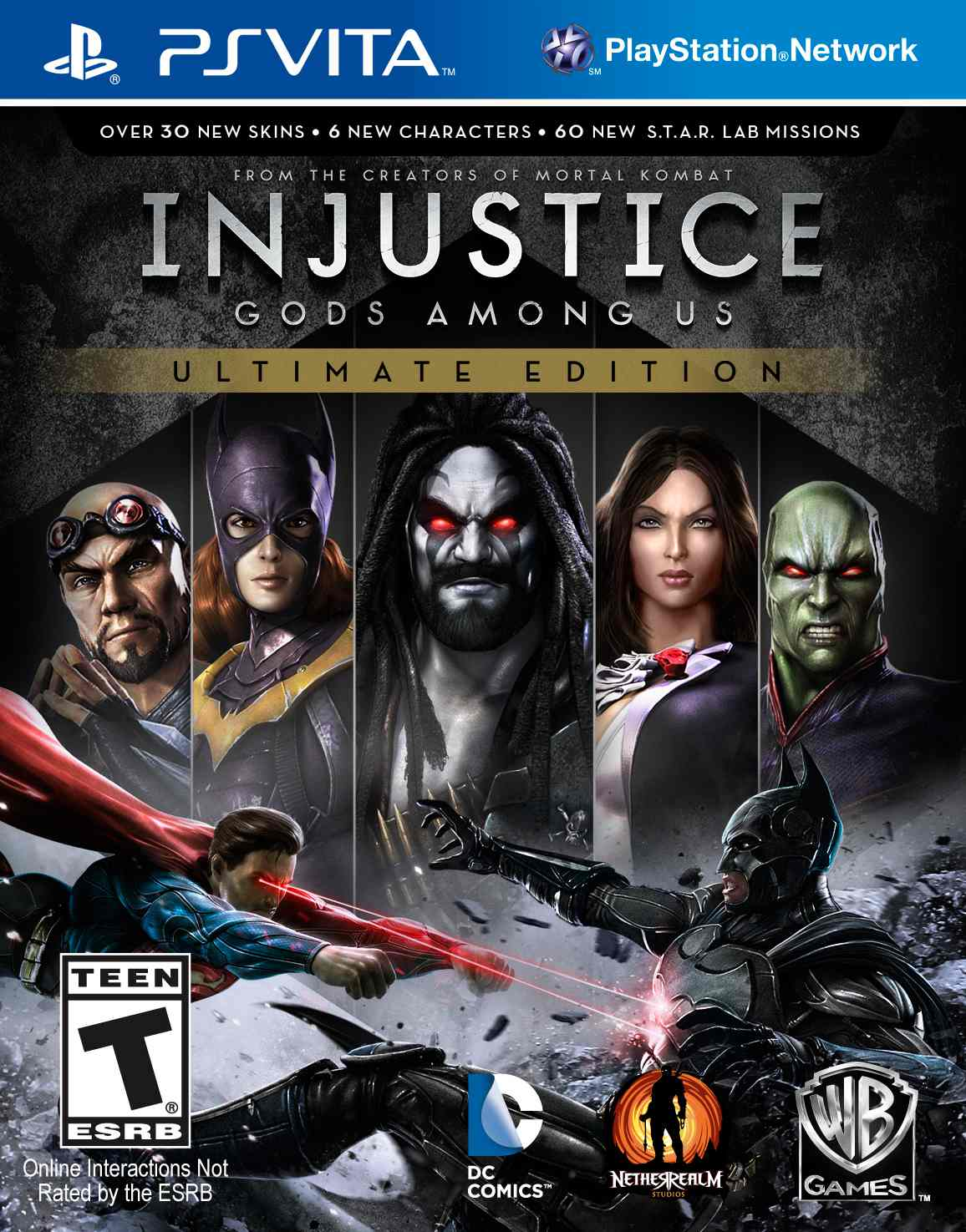 Ver Injustice Gods Among Us Ultimate Edition Psvita