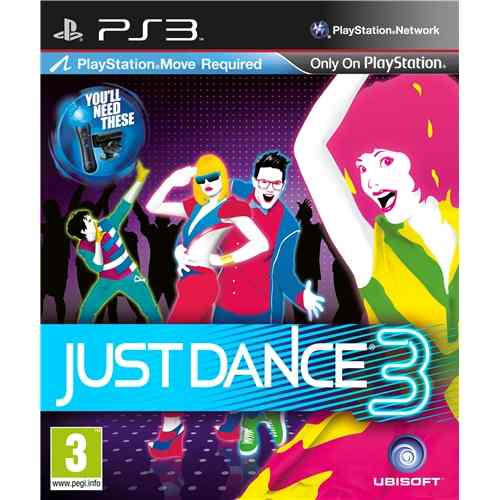 Just Dance 3 Ps3m