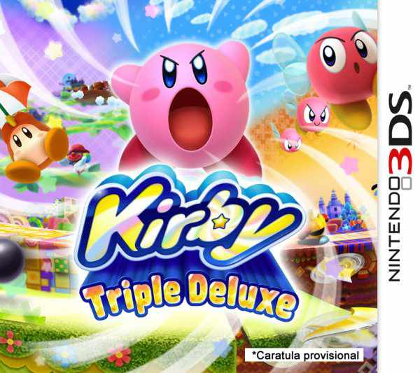 Ver Kirby Triple Deluxe 3ds