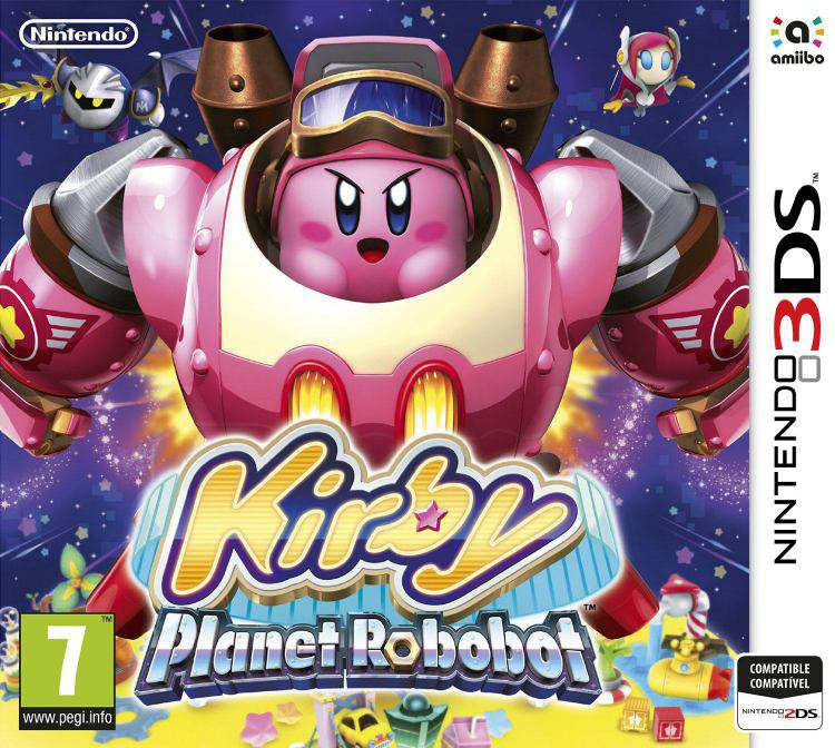 Ver Kirby Planet Robobot 3Ds