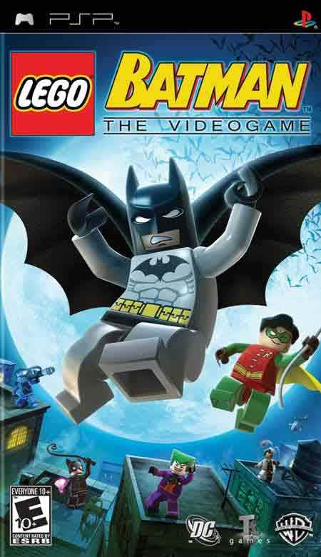 Lego Batman  Essential Psp