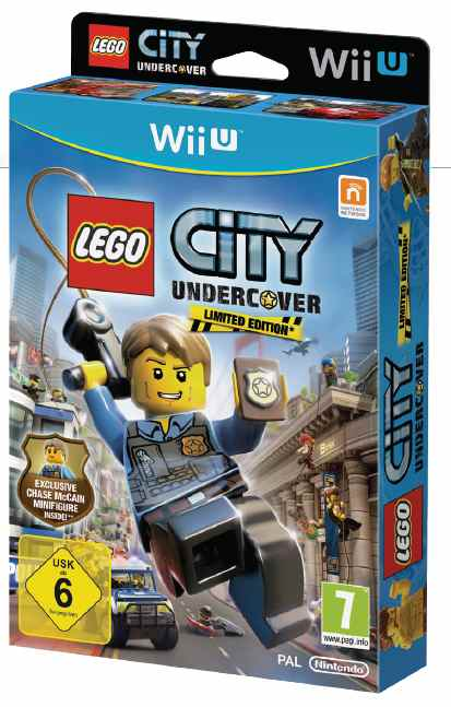 Juegos Lego City Undercover Figurita Wii U Pcexpansion Es