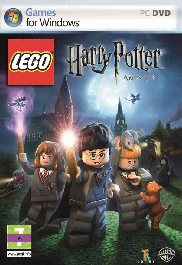 Lego Harry Potter - Anos 1-4 Pc