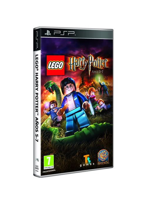 Lego Harry Potter - Anos 5-7 Psp