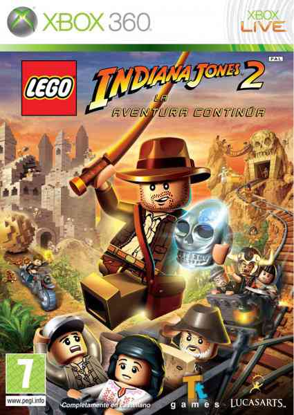 Lego Indiana Jones Ii X360