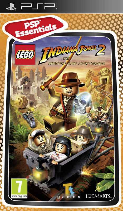 Lego Indiana Jones 2 The Adventure Continues Essentia Psp