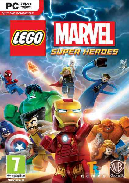 Ver LEGO Marvel Superheroes PC